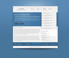 Dan Orman website design 2