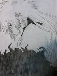 ~Bleach: Hichigo Shirosaki~ by MikoSachiko