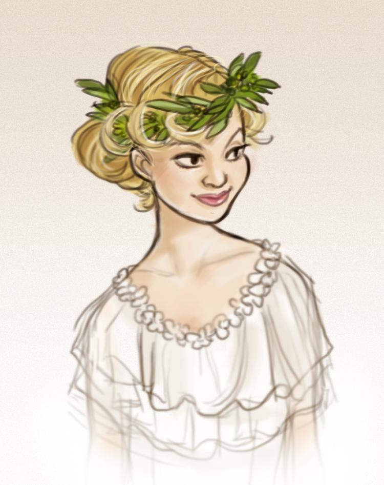 Wedding crown by sparrowbirdd