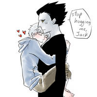 Stop hugging me, Jack by ILsama
