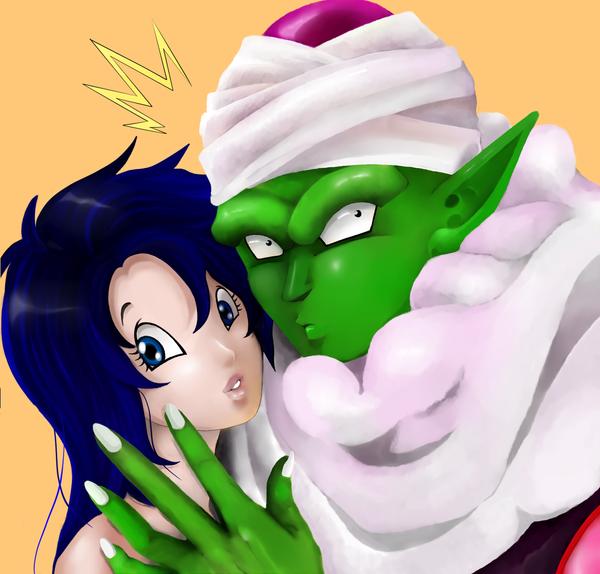 Piccolo x OC. Oops! by Fatenight