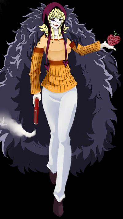 One Piece: fem!Rocinante by Fatenight