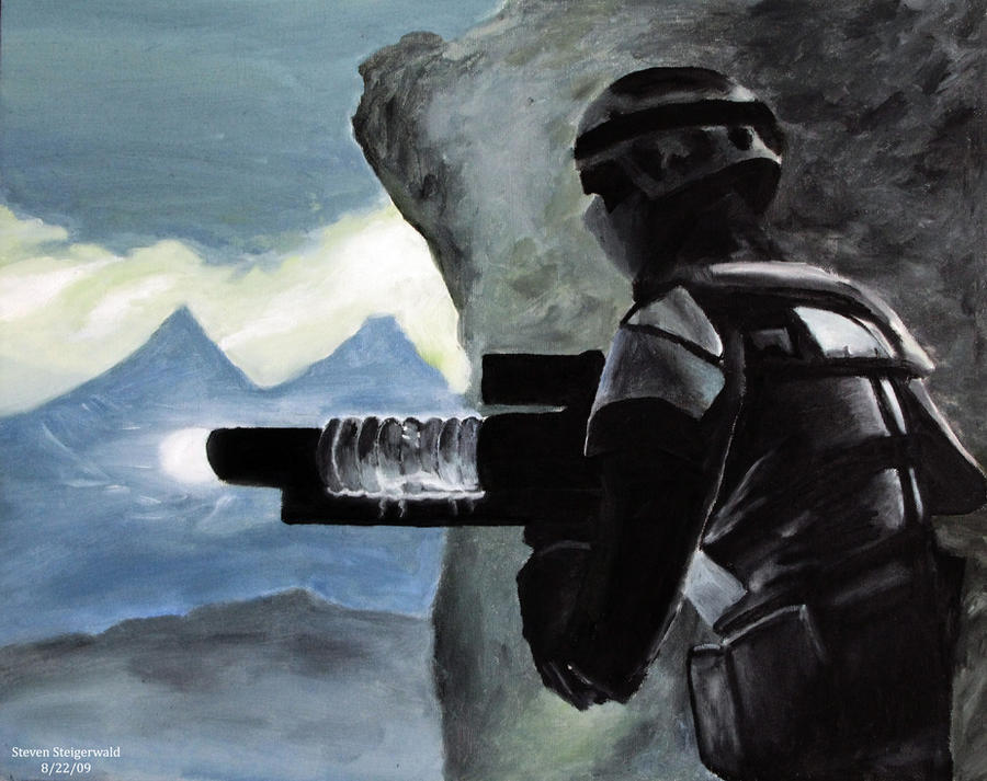 Fallout 3 alaska painting by ltflak on deviantart for Fallout 4 canvas painting