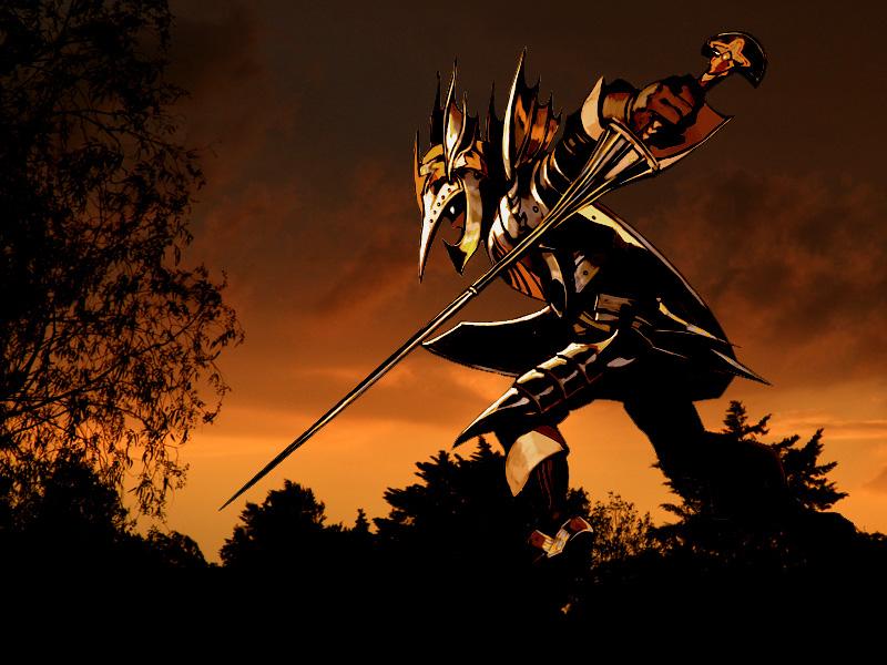 The Orange Warrior by Ltflak