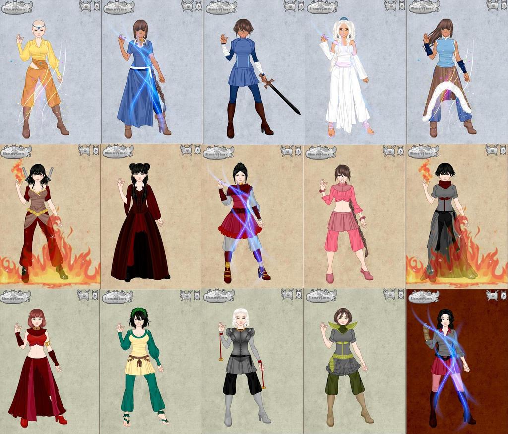 Avatar Characters By Eeveelovestory5 On DeviantART