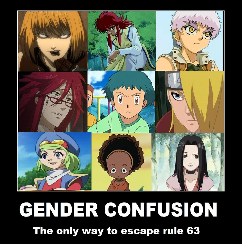 The 63 genders