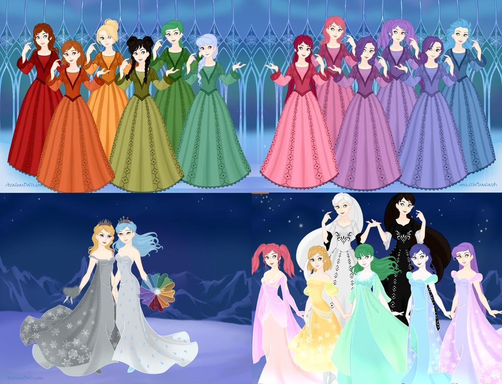Frozen Rainbow by eeveelovestory5