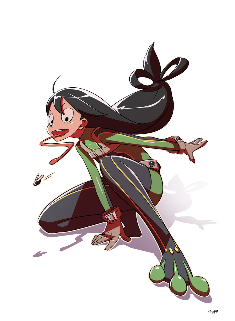 Asui Tsuyu by OptionalTypo