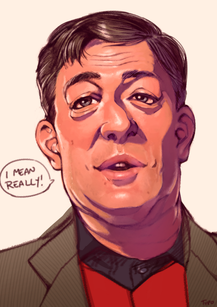 Stephen Fry by OptionalTypo