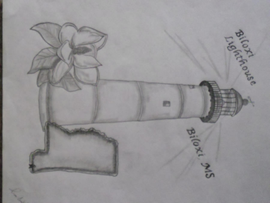 Biloxi Lighthouse By Koocessej On Deviantart