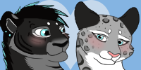 Habu and Lily Icons by SapphireSquire