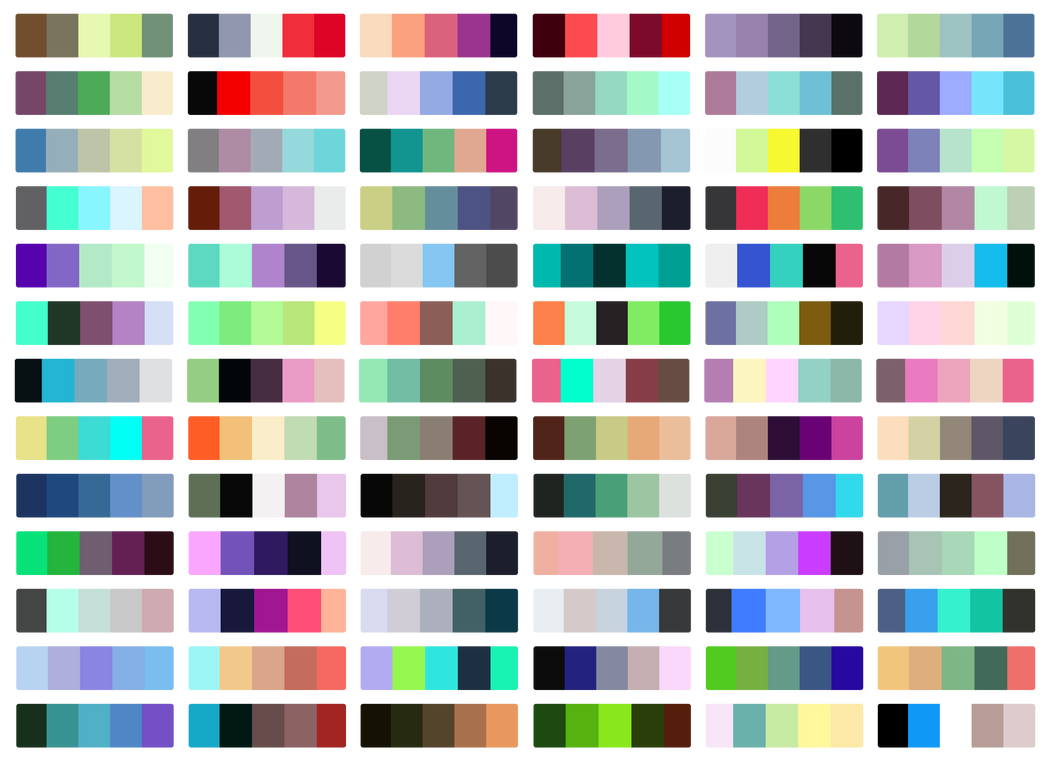 Free Color Palettes by SapphireSquire on DeviantArt