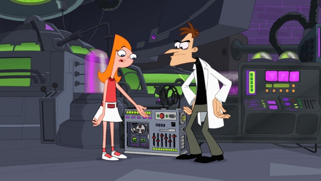 Doof, Candace, and the Do-Over-inator by DEMarq