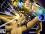 Cosmic Goddess (Uncensored) Original by artboy-2