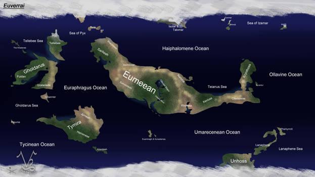 Euverrai Map