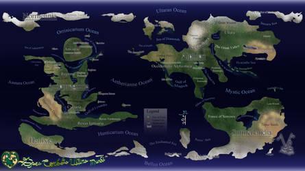 Ace of Hearts Map Gaea Cordata V5 LARGE