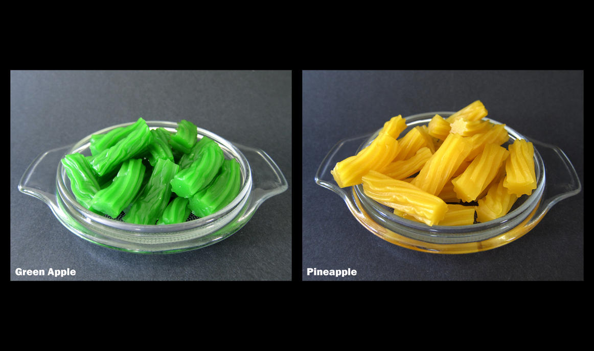 Lucky Country Soft Licorice Green Apple and Pineap by devianb