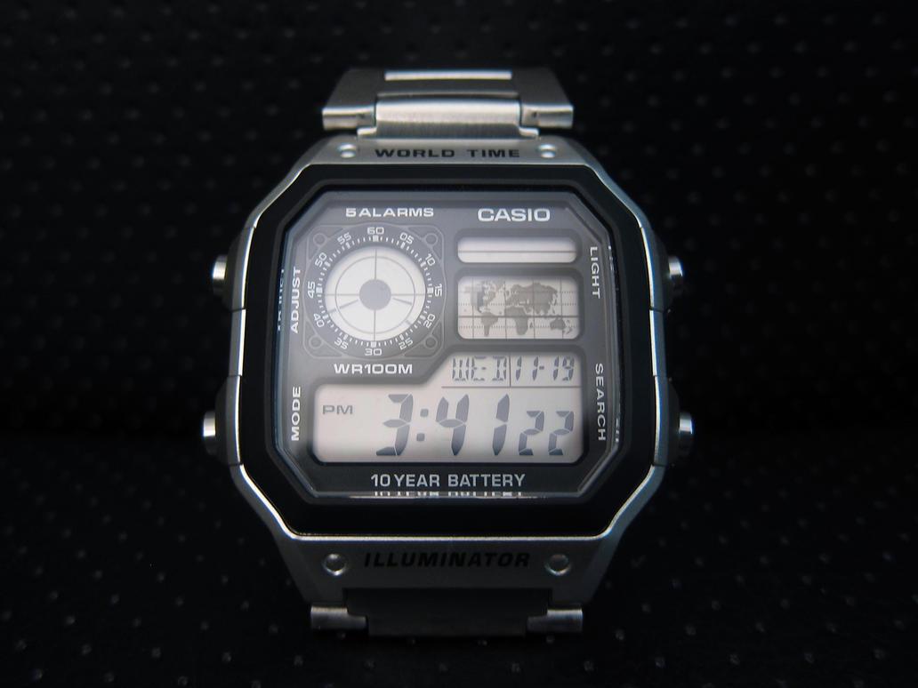 Casio AE1200WH by devianb
