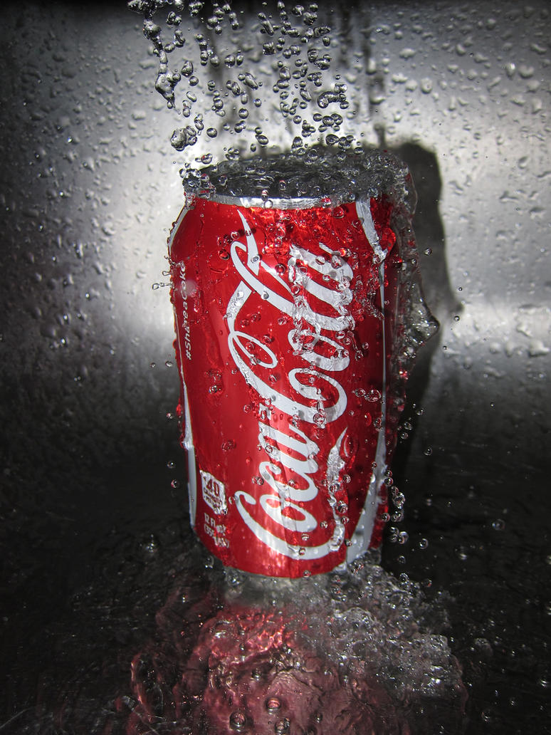 Coke Splash by devianb