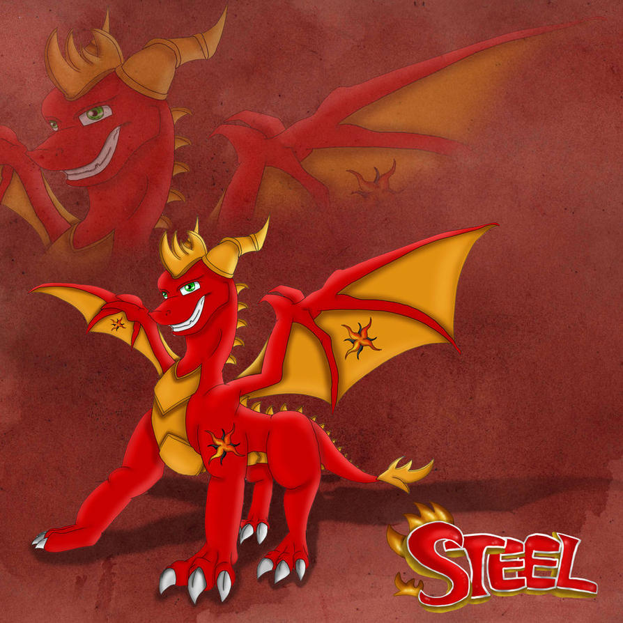 Steel - The Dragon by theheroofdarkness
