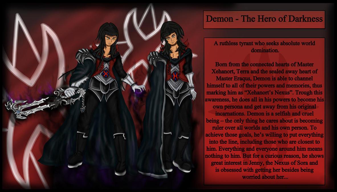 Demon - The Hero of Darkness by theheroofdarkness