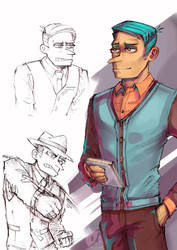 Perry the Platypus (Human)- Phineas and Ferb