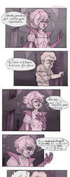 (comics) I AM YOUR MOTHER!-Pink diamond and Steven by RoboCat-RC