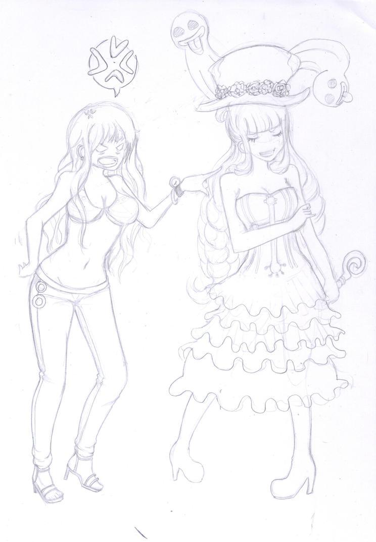 OP: Perona and Nami by Michikoreto