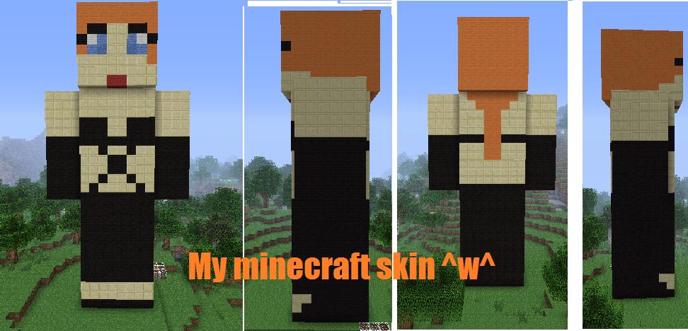 My Minecraft Skin By The-Real-Firekitty13 On DeviantART