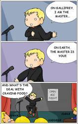 A Master of Comedy by AqueousSerenade