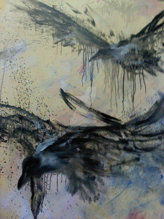 Crow studies by Z-E-R-G-O-L