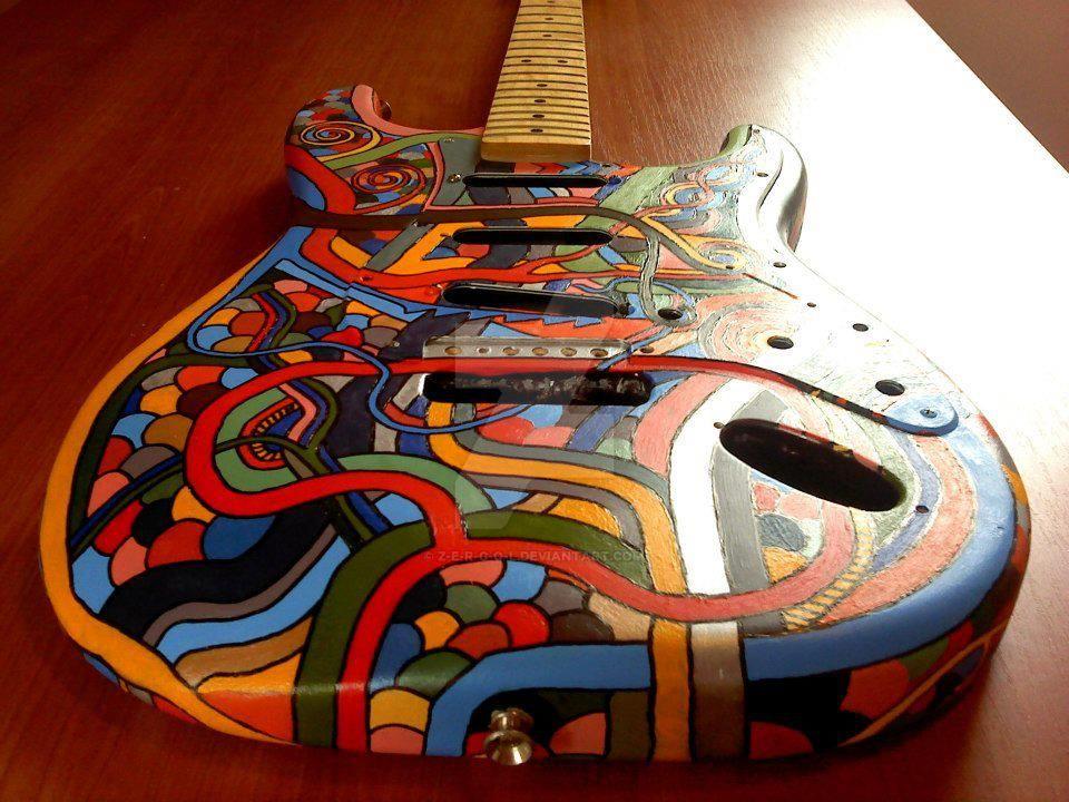 Guitar by Z-E-R-G-O-L