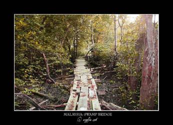 Malaysia.7: Swamp Bridge by Angelfae