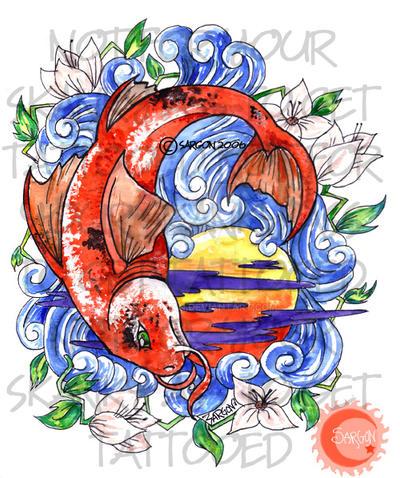 Lucky koi fish by sanrixian on deviantart for Lucky koi fish