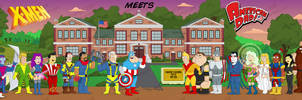 X-Men in American Dad Style 1