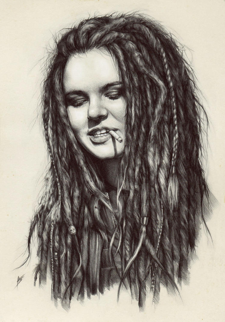 Dread girl by AntarcticSpring
