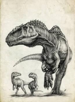 Giganotosaurus' family