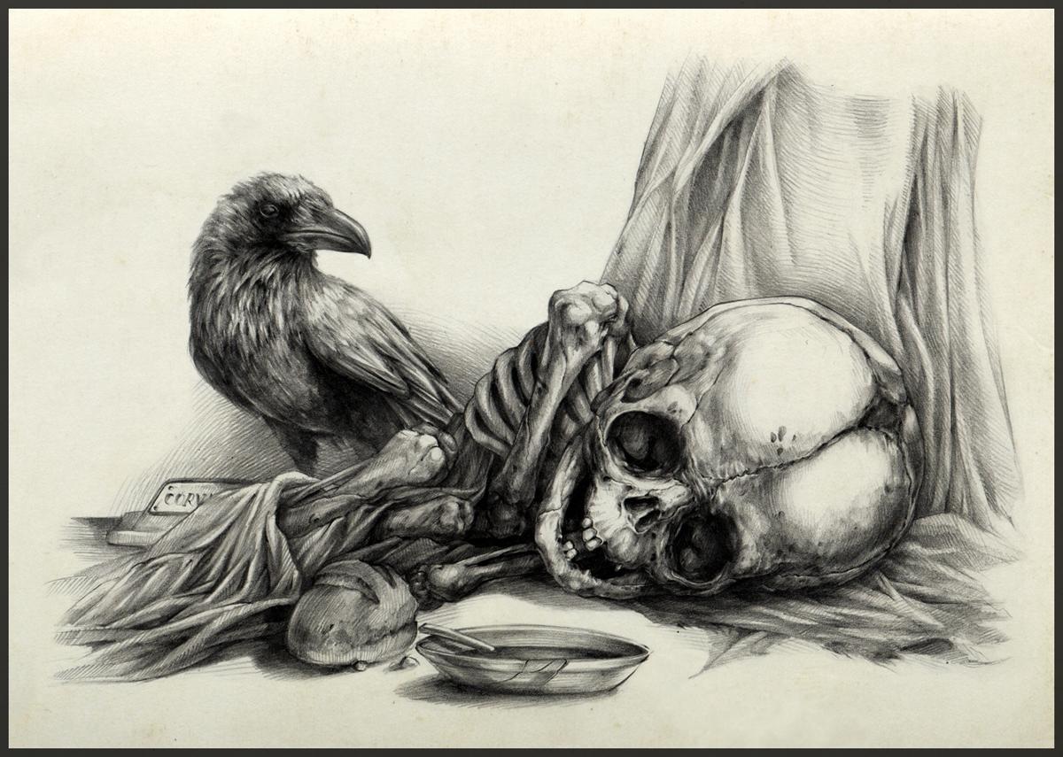 Vanitas: famine by AntarcticSpring
