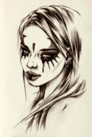 Dead moon Princess IV sketch by AntarcticSpring