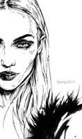 Fineliner sketch 29 by AntarcticSpring