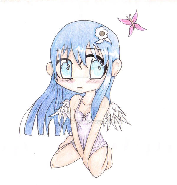 my little winged angel by Renarche