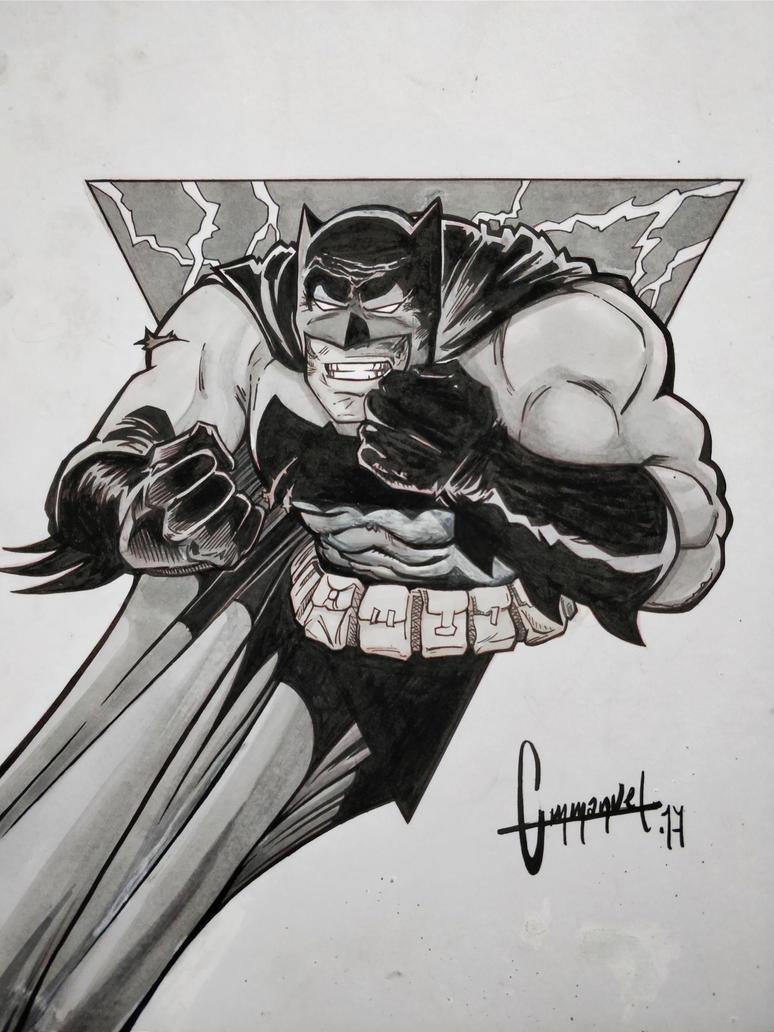 Batman The Dark Knight by fontanemmanuel