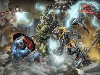 Avengers by alt01414sak