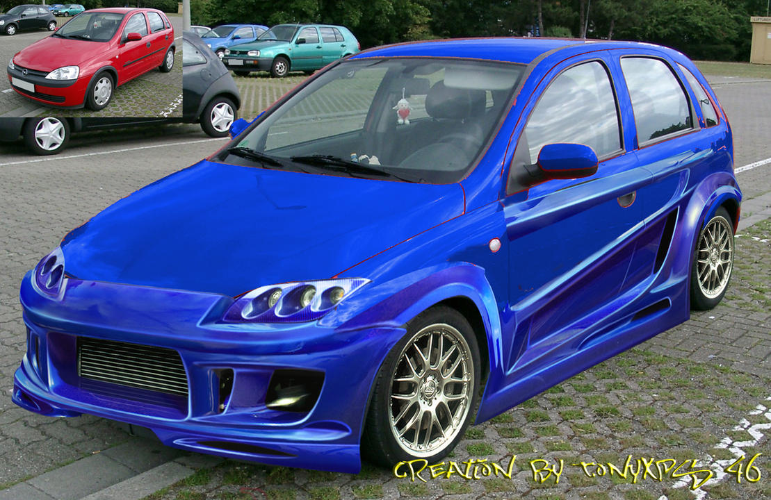 opel corsa tuning by me by kira46. Black Bedroom Furniture Sets. Home Design Ideas