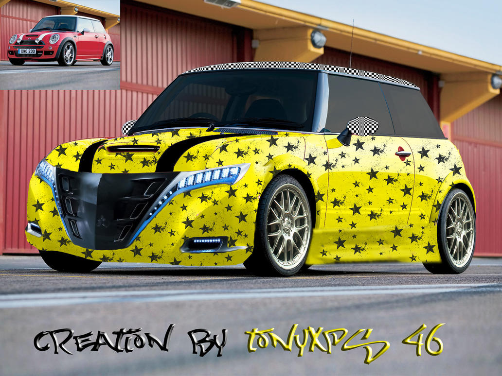 my mini cooper tuning by kira46 on deviantart. Black Bedroom Furniture Sets. Home Design Ideas