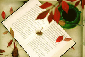 autumn tea by violetkitty92