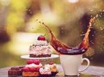 cake and coffee II