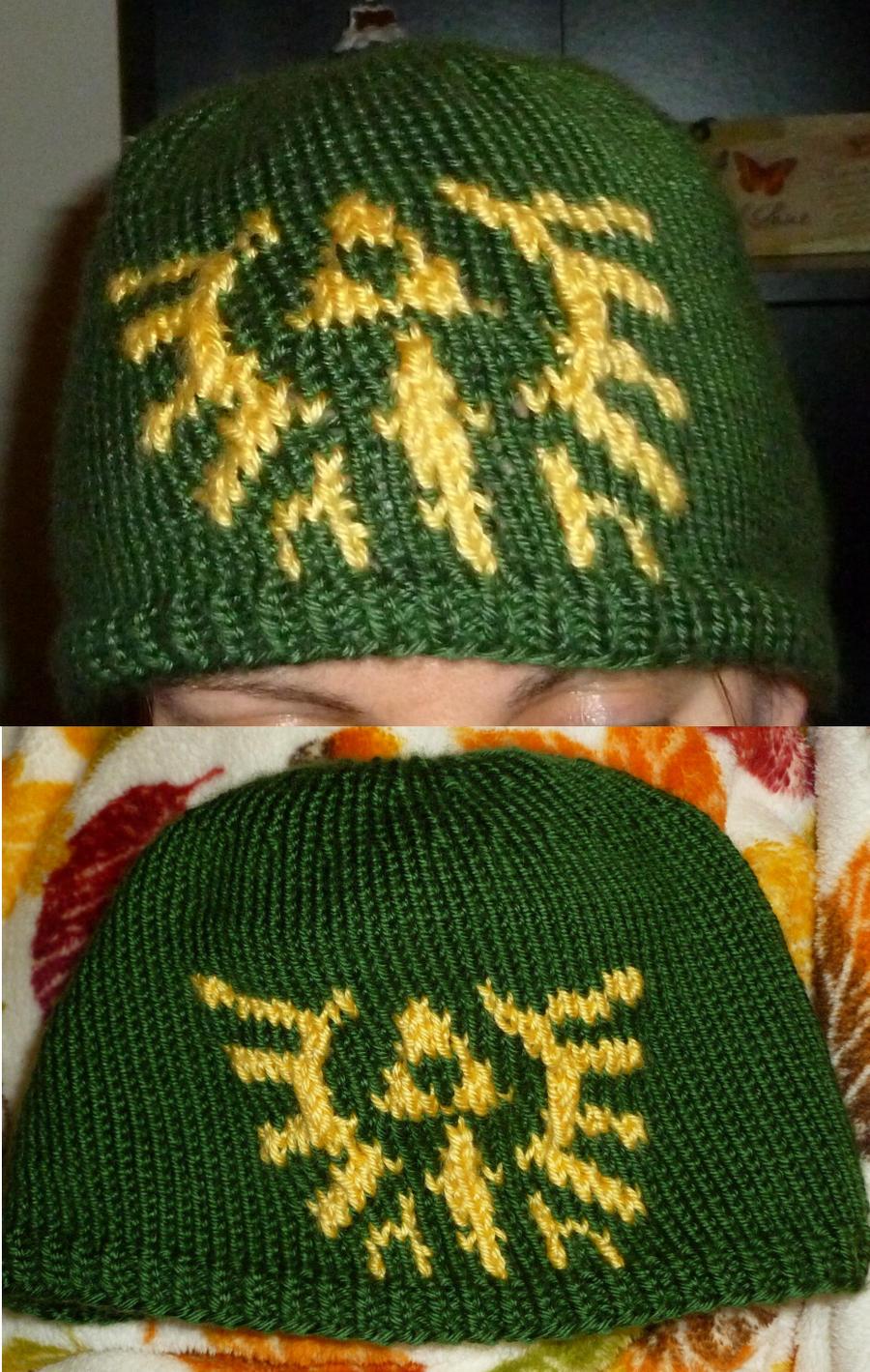 Zelda Hat Knitting Pattern : Legend of Zelda Hylian Crest Hat by prezofxms on DeviantArt