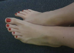 Hello my Friends show you my Barefeet again