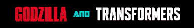 New Godzilla and Transformers Fan Button by AnimatedArcee